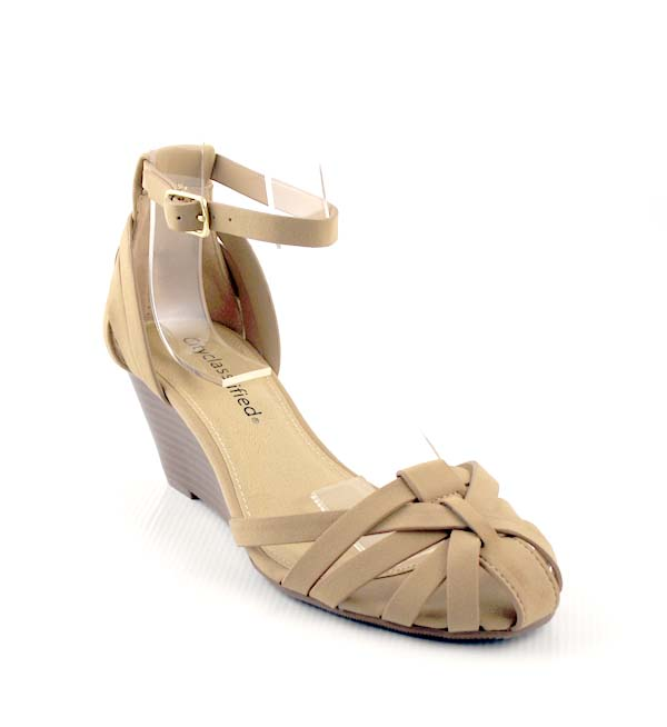 Cage Shoe Mid Heel